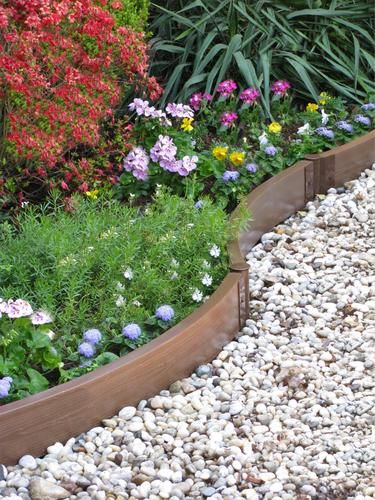 Landscaping Borders Menards : Garden borders paths beds landscaping ideas sloped yard