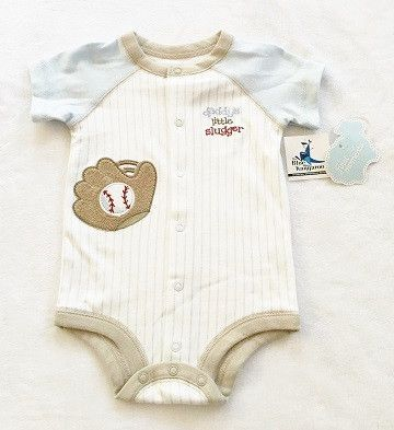 First Moments Onesie Size 6M (NWT)