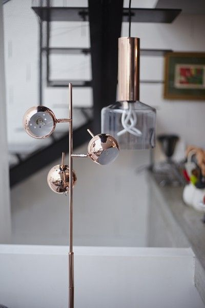 We\'re loving Clem\'s use of Copper in her home in Paris; featuring ...