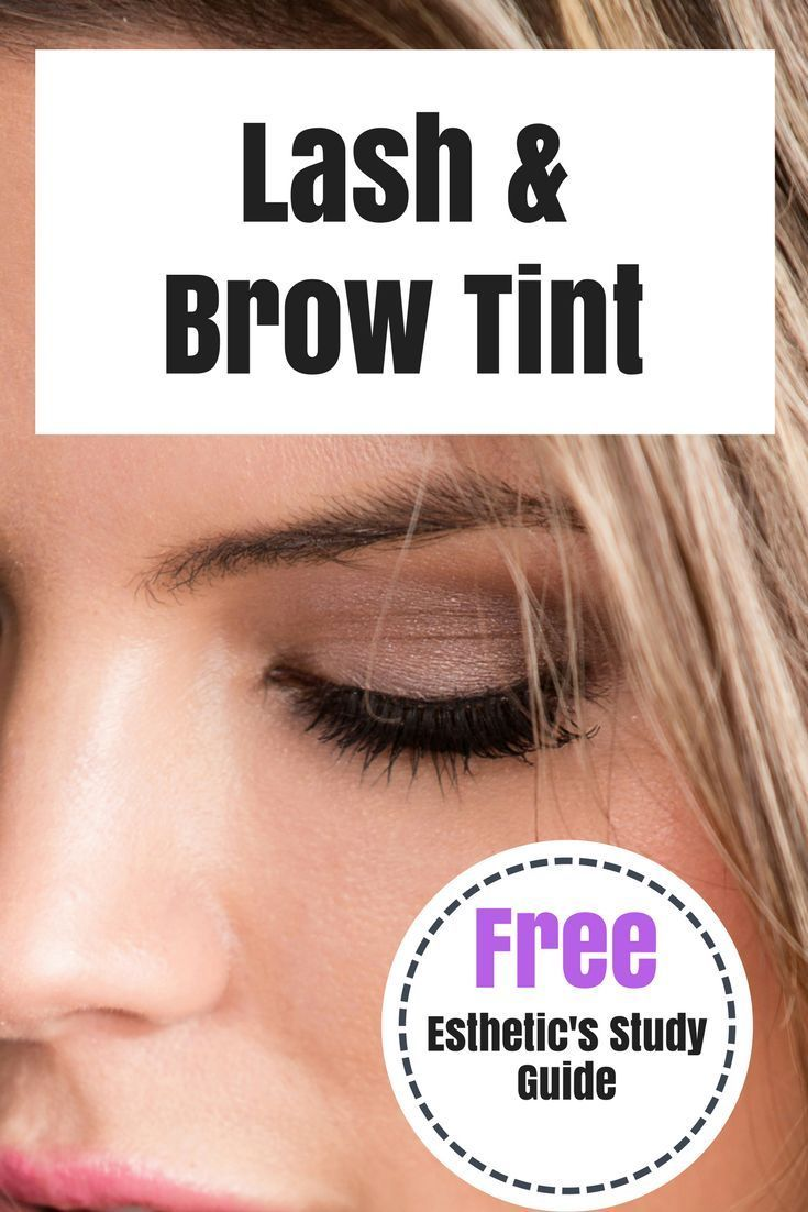 Do you want to know how to perfect your lash and brow tint