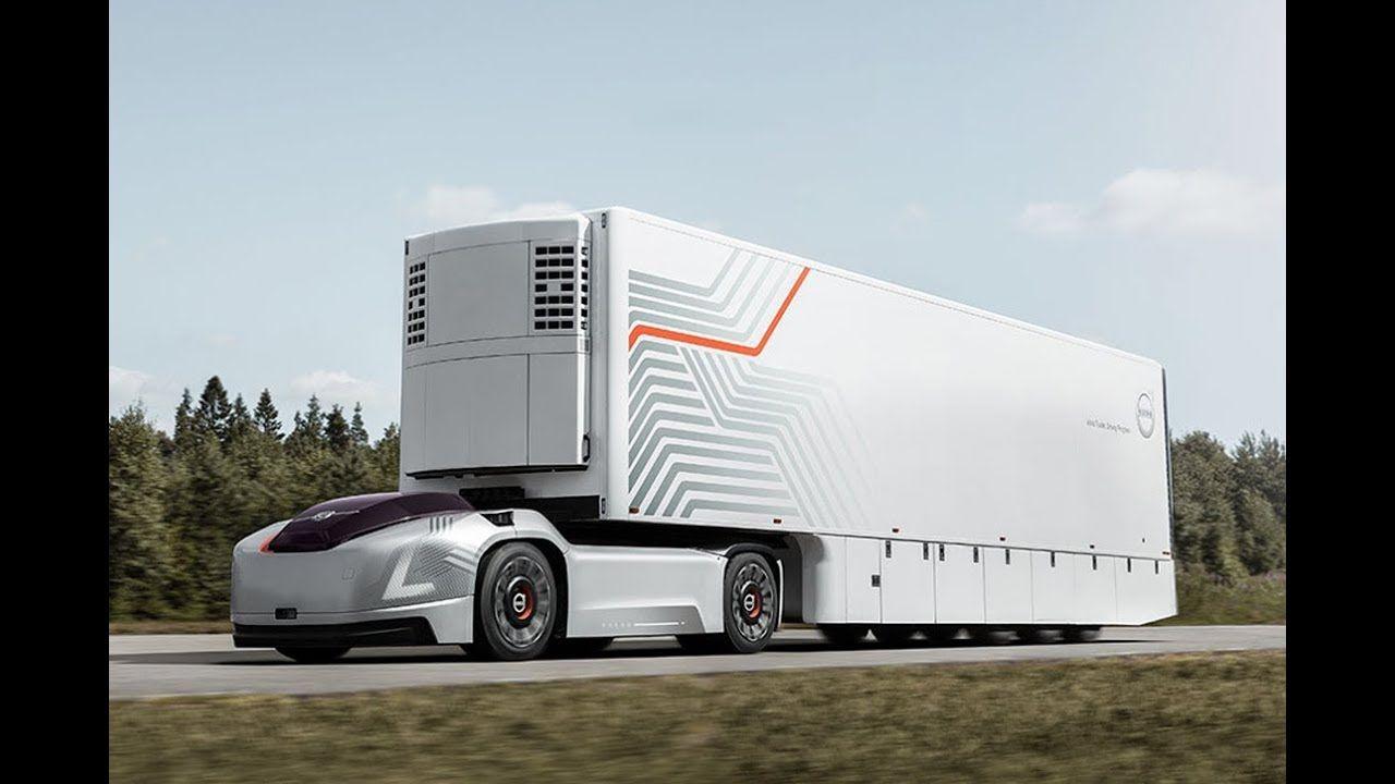 2020 Volvo Vera Autonomous Truck Concept Volvo Trucks Custom Trucks Volvo