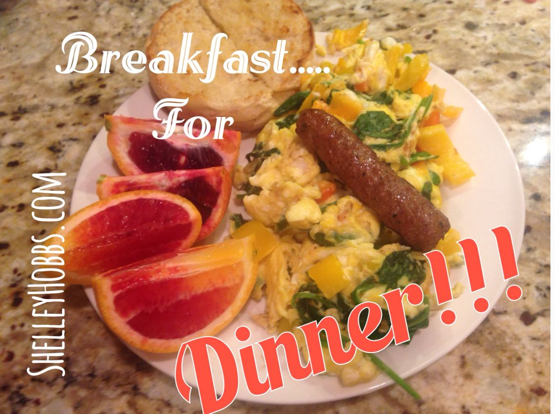 Dinner tonight = soooooo good!!!!! Vege scramble, turkey sausage, blood Oranges, my 2 carbs of the day a 1/2 eng muffin