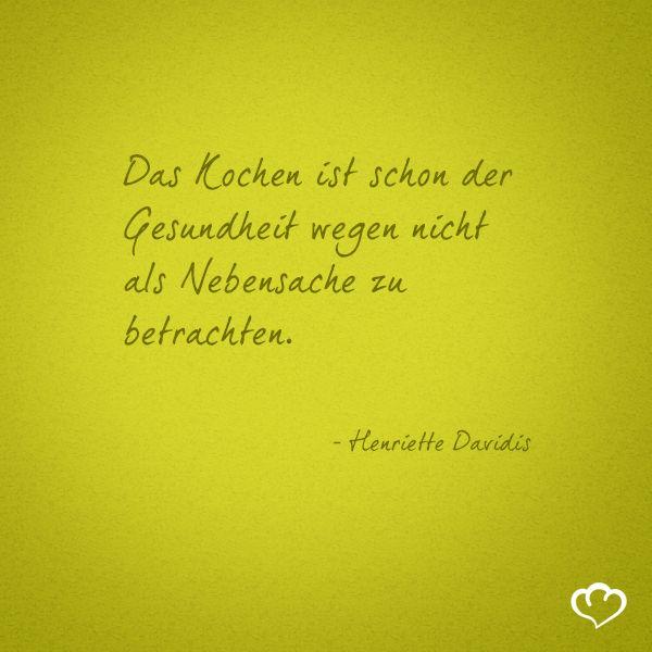 Henriettedavidis Spruche Und Zitate Ernahrung Spruche