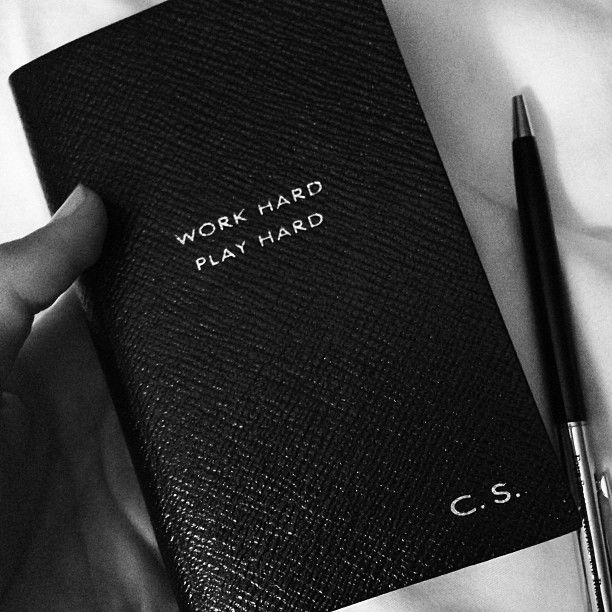 My favorite little black book. - @Candice Swanepoel