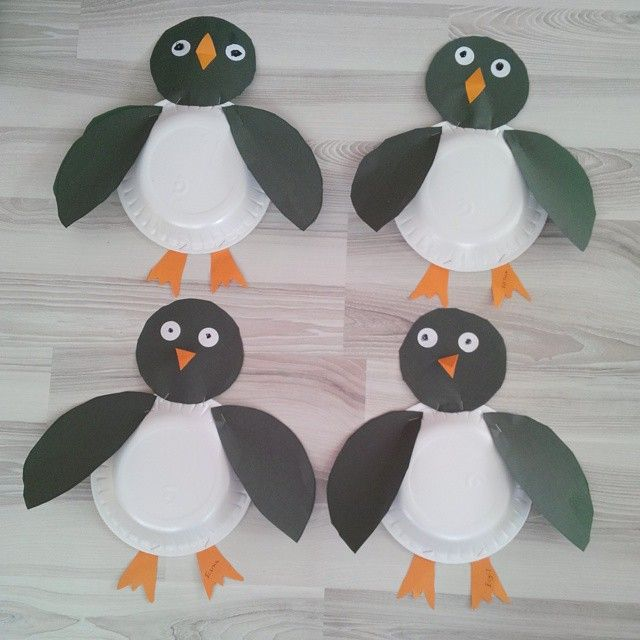 Paper Plate Penguin Craft Crafts And Worksheets For Preschooltoddler And Kindergarten