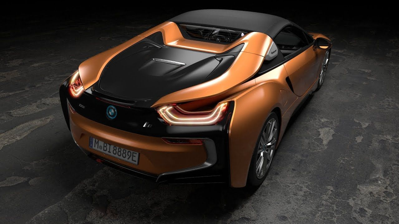 Bmw I8 Coupe Is Transformered Into The I8 Roadster Bmw I15 I8