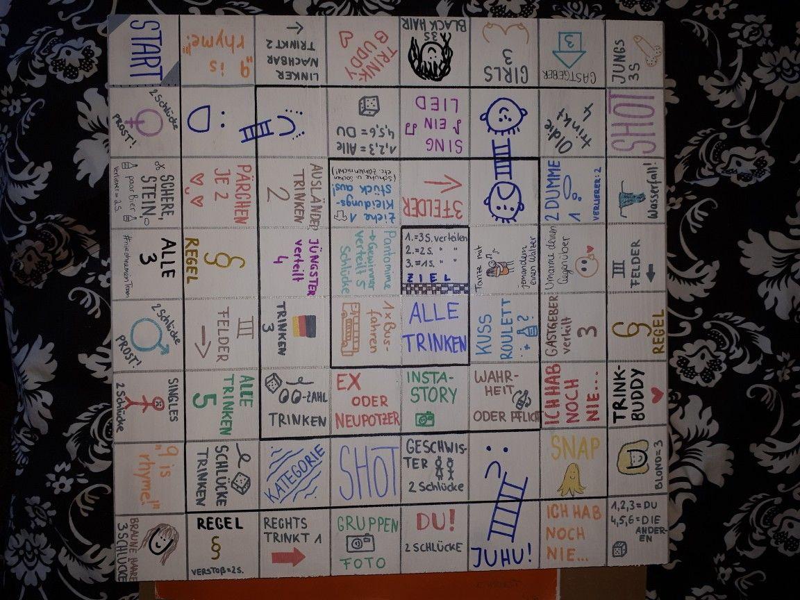 Spieltisch Das Trinkspiel Spiel Alkohol Trinkspiel