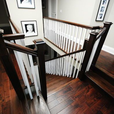 Best Grand Homes Canada Poplar Contemporary Staircase 400 x 300
