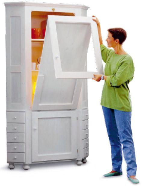 eckschrank mit tisch bauen eckschrank holzarbeiten und. Black Bedroom Furniture Sets. Home Design Ideas