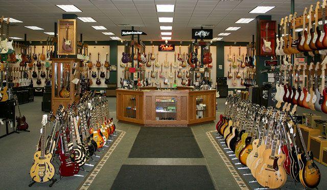 Gallery 20 Coolest Guitar Stores In The Us Volume 2 Loja De Instrumentos Musicais Loja De Instrumentos Fogao A Lenha