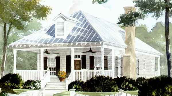 SL1581 This is it! The perfect house plan for me. Southern charm ...