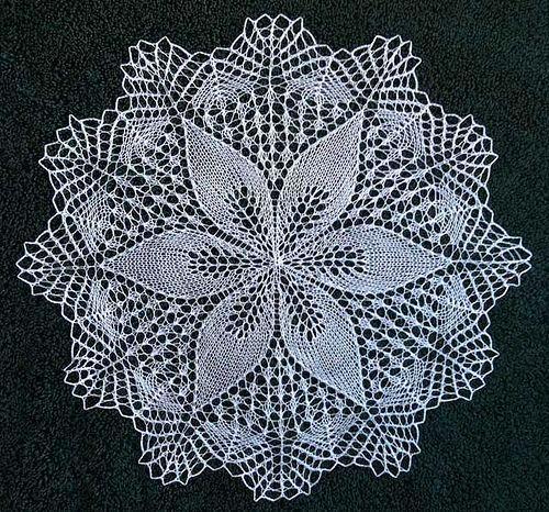 Julie by shanley1123 free knit doily pattern: Julie by shanley1123 ...