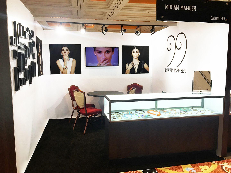 SPB Concept - Booth Design - Miriam Mamber Collection - COUTURE Las