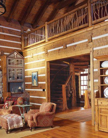 Cabin Decor Bing Images Log Home Interiors Log Home Interior