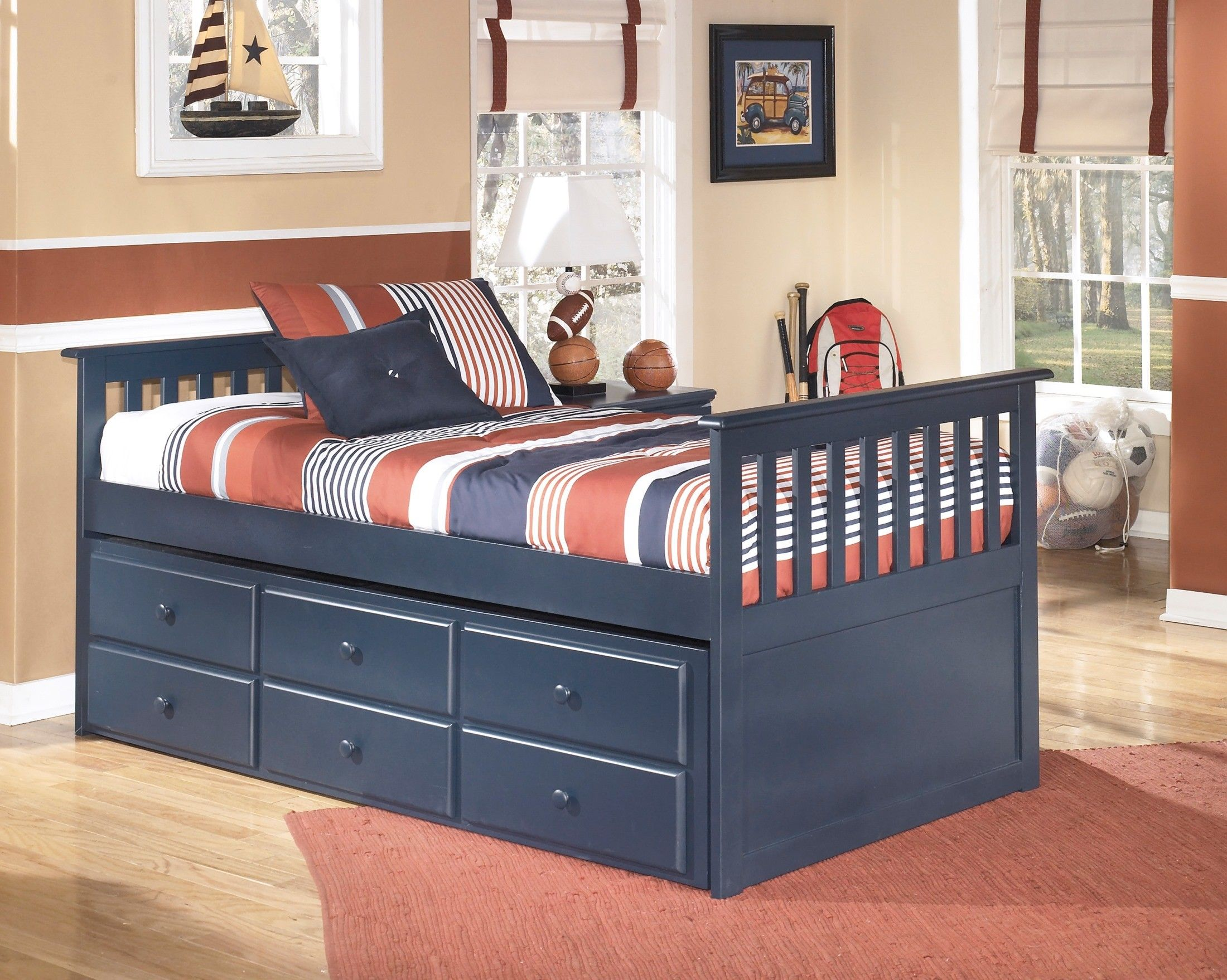 Leo Twin Trundle Bed Aiden Pinterest