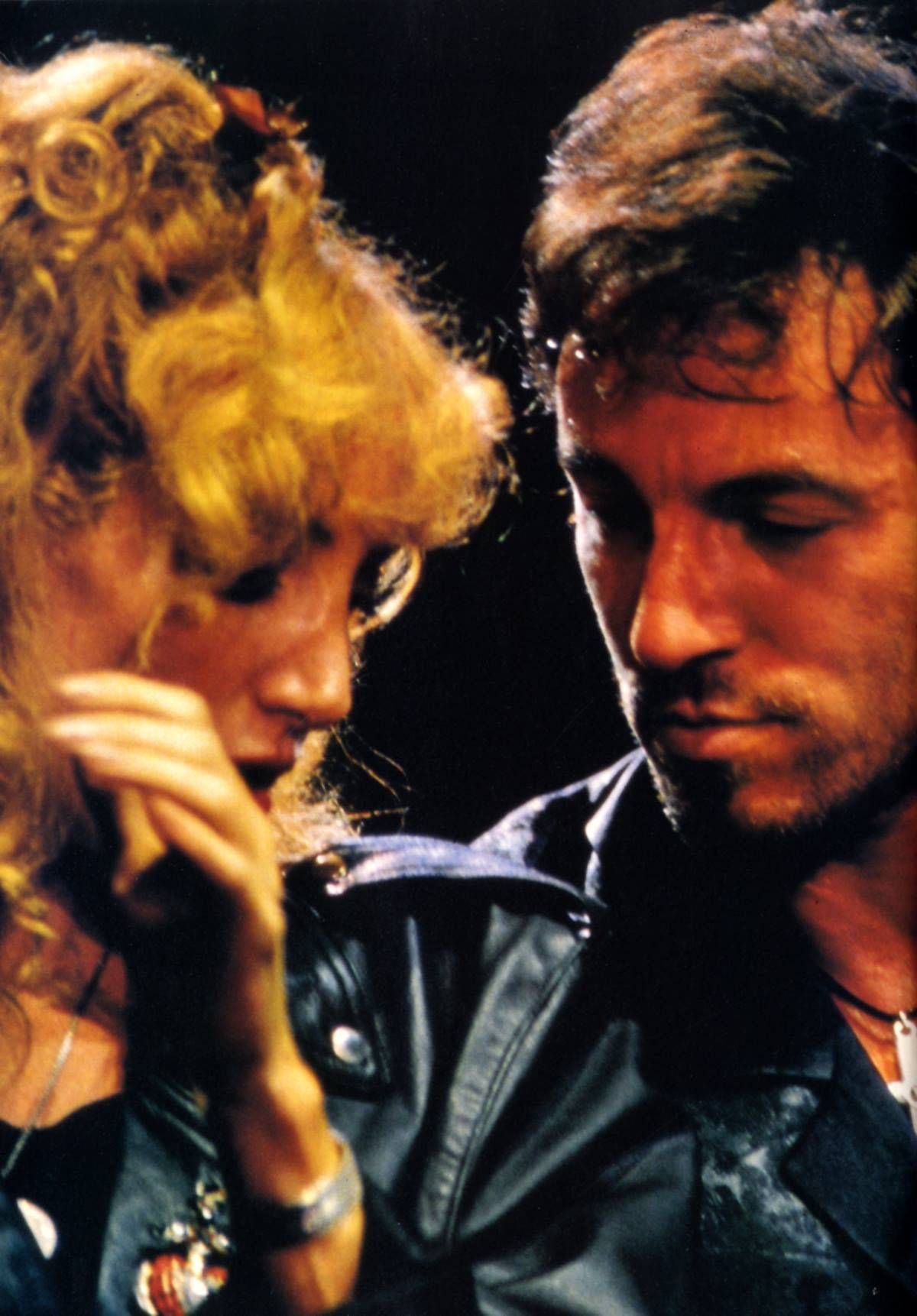 Bruce springsteen and patti scialfa paris 1988 bruce for Who has bruce springsteen been married to