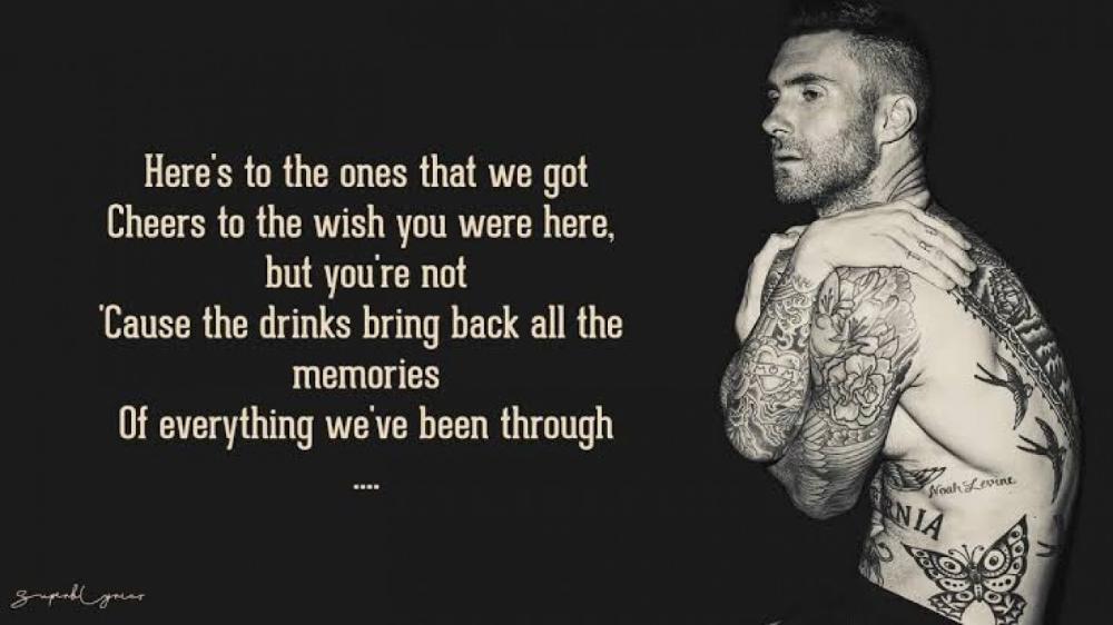 Maroon 5 Memories English Songs S Lyrics In 2020 Maroon 5 Memories Songs