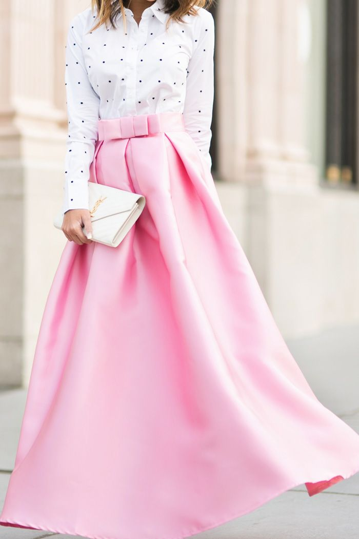 Pink Maxi Ballgown Skirt Skirt Fashion Ball Gown Skirt Fashion