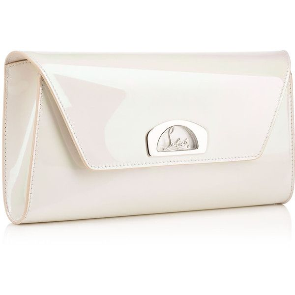 bbeed7cab1bb Vero-Dodat Clutch White Patent Calfskin - Handbags - Christian... (58