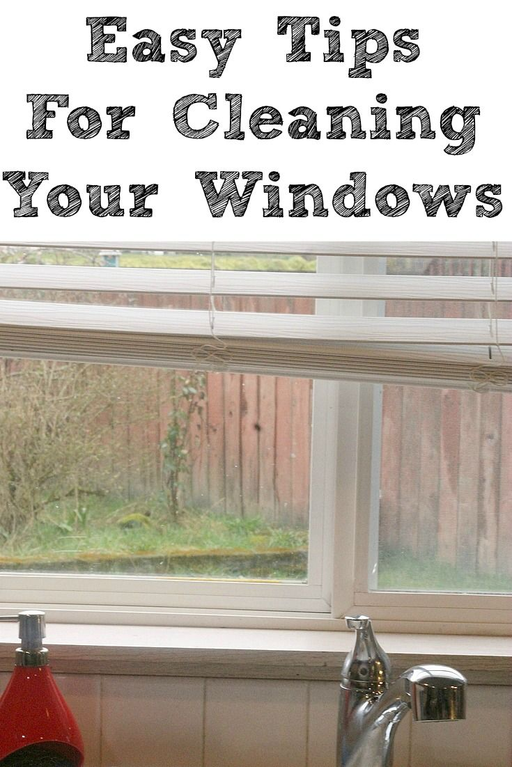 Easy ways to clean your windows deep cleaning cleaning
