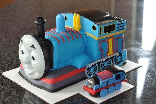 Unique Thomas The Train Birthday Cakes
