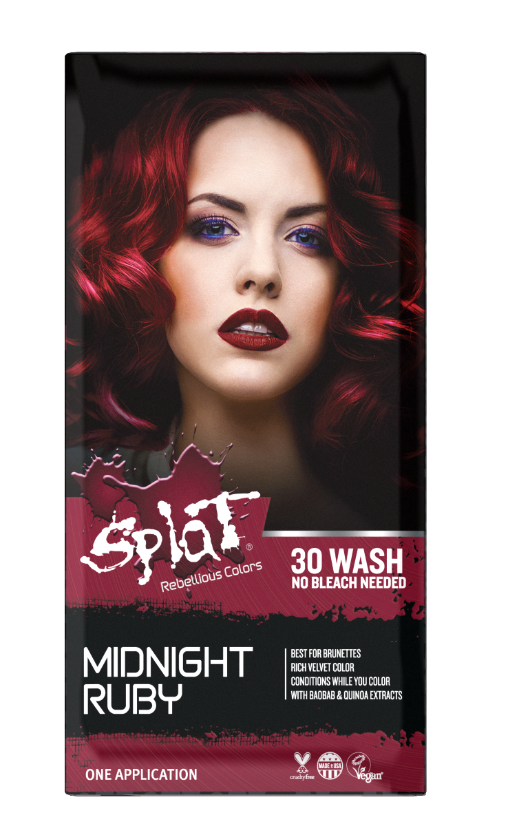 Splat Midnight Hair Color Ruby 10061 Ruby Red Hair Color Tinted Love Ruby Red Hair Color Henna Hair Color Hair Color Conditioner
