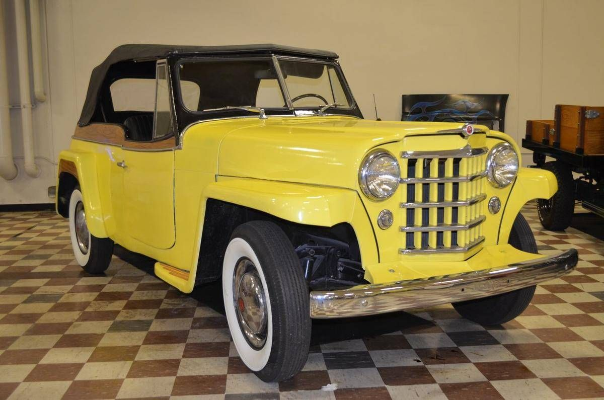 1949 Jeep Jeepster Willys Phaeton For Sale Hemmings Motor News