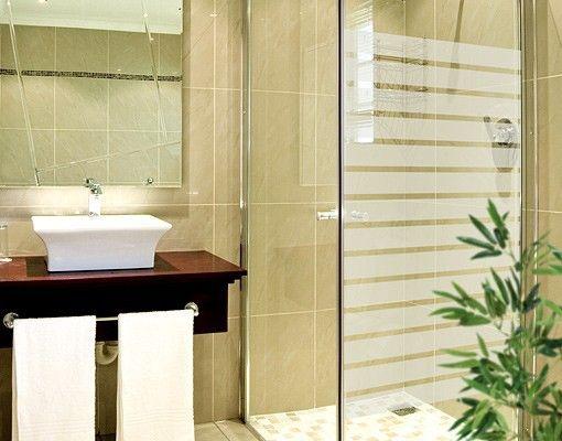 Best  Fensterfolie Fenstertattoo No DS Streifen Schmal Milchglasfolie Bad badezimmer