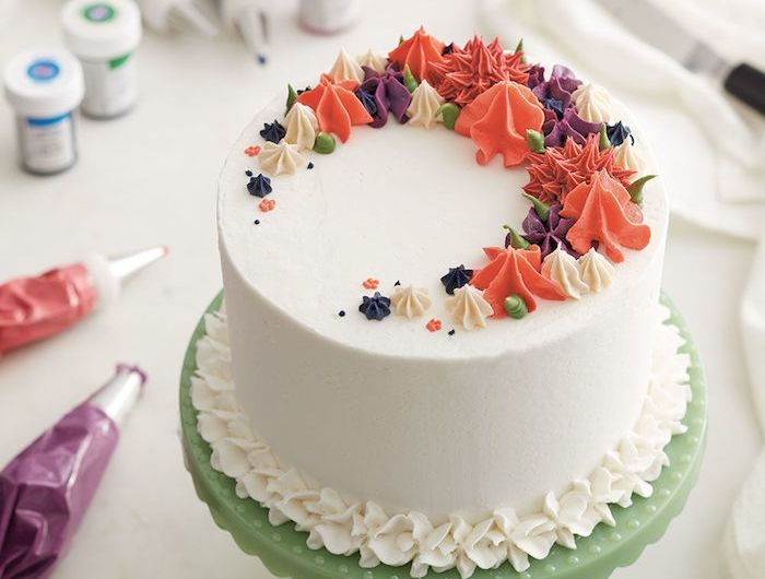 1001 id es et recettes originales comment faire un gla age simple cr atif pinterest - Decoration gateau glacage ...