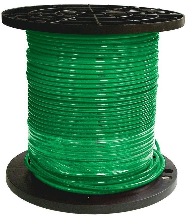 Southwire 500 Ft 8 Gauge Stranded Cu Thhn Single Conductor Electrical Wire Green Southwire Conductors Electricity Home Improvement