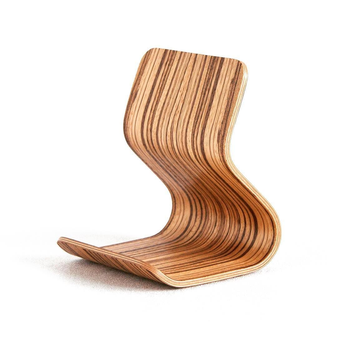 Working on a new batch of zebra wood ray ipad stands canut stop
