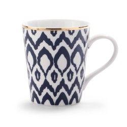 Navy Ikat Dinnerware - CWonder - Coffee Mug - $10/ea