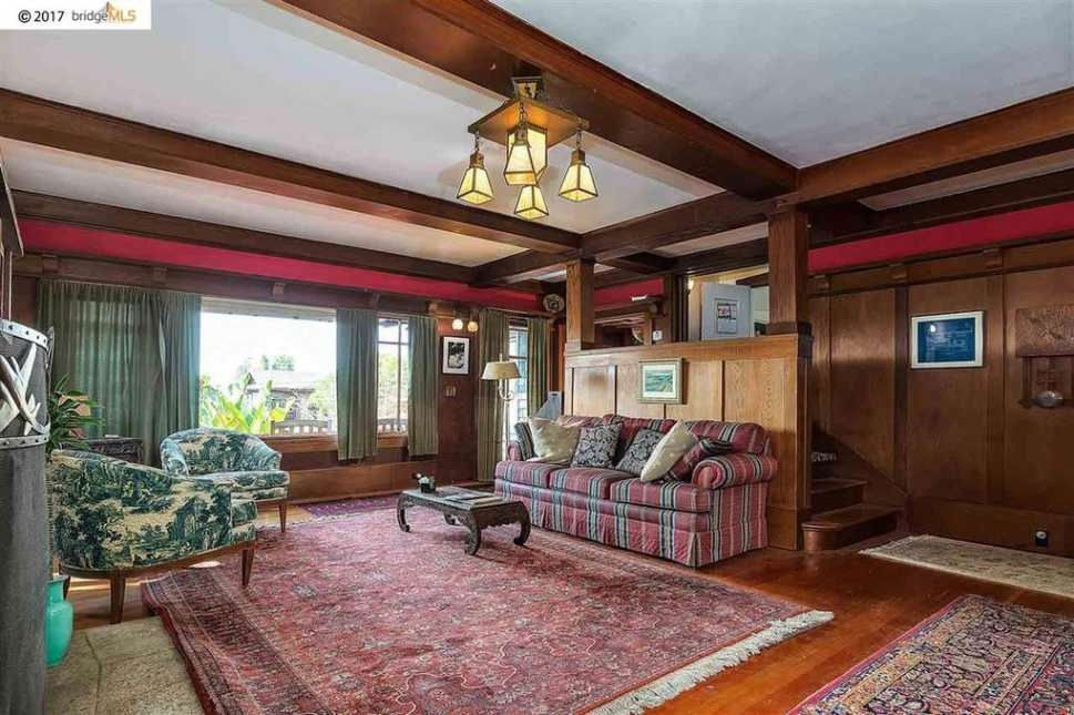 1912 craftsman berkeley ca 1 225 000 old house dreams living room pinterest for Bedroom furniture berkeley ca