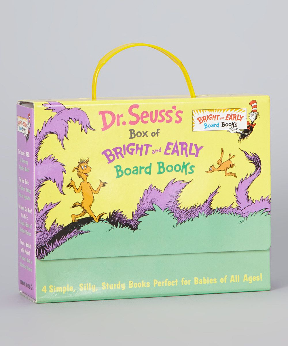 Take a look at this Bright and Early Boxed Board Book Set on zulily today!