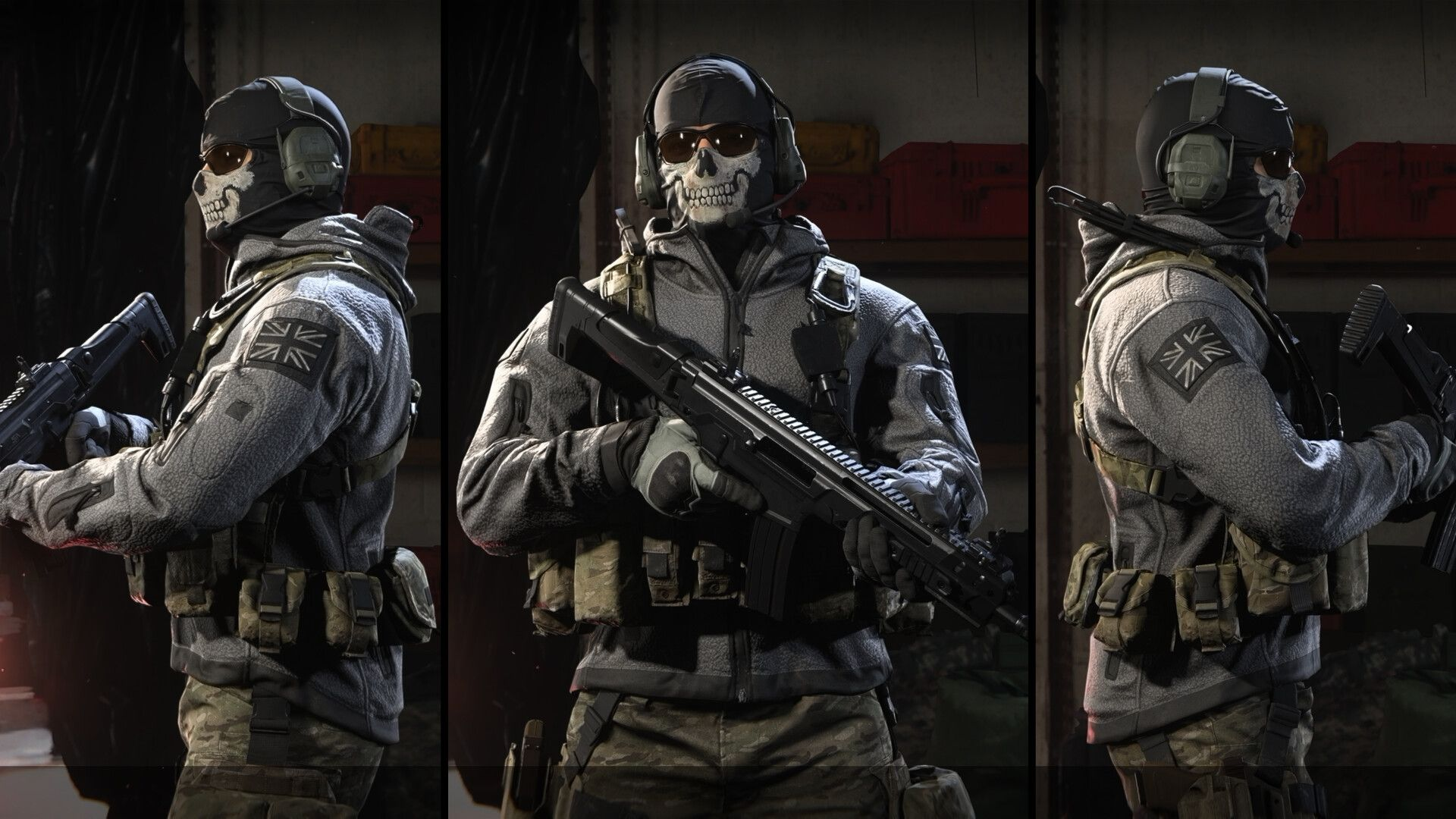 Artstation Call Of Duty Modern Warfare 2019 Classic Ghost Skin Ricky Zhang In 2020 Call Of Duty Modern Warfare Call Of Duty Ghosts