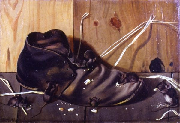 Art Painting Of Oxford Shoes