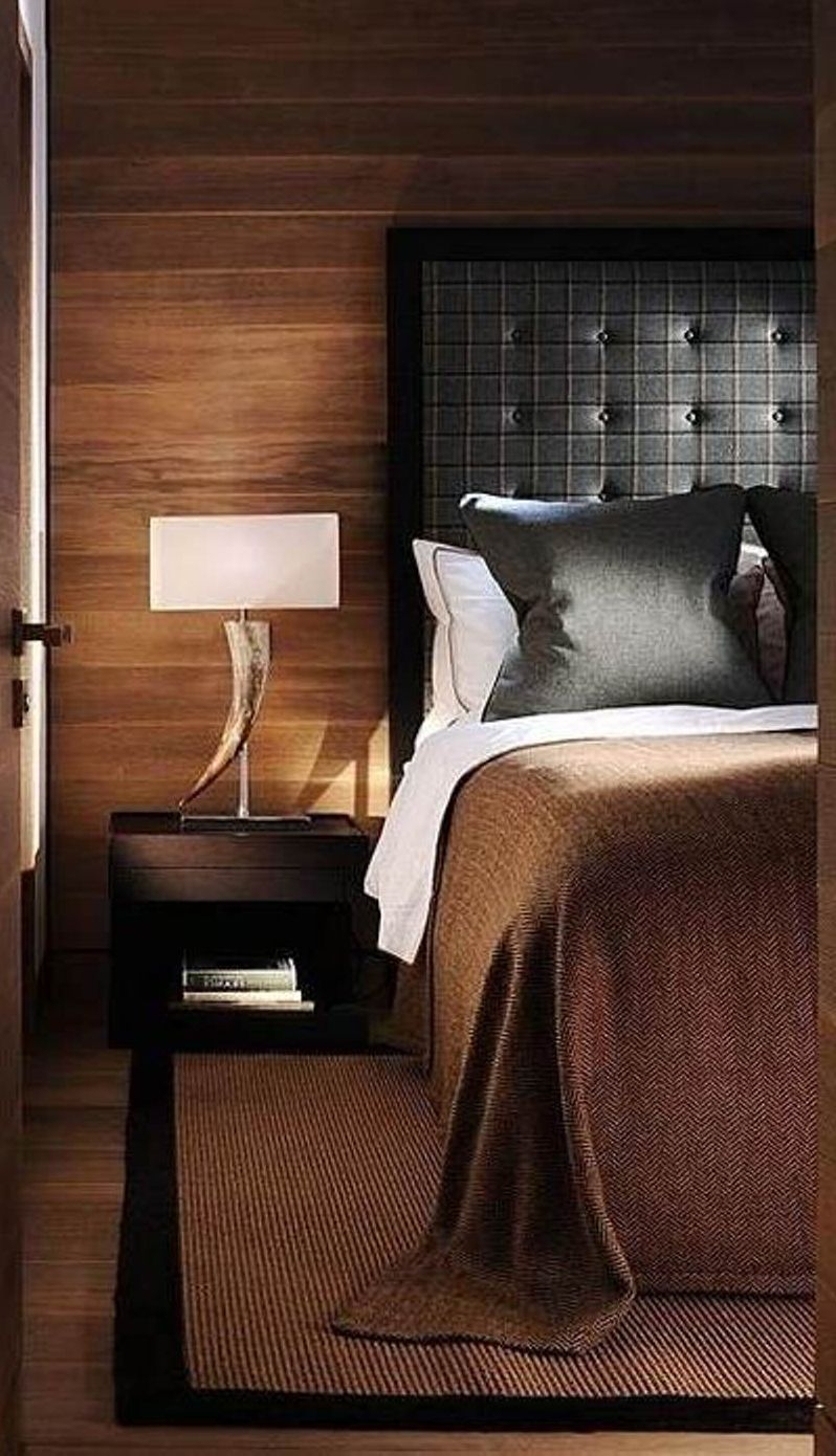 Amazing Masculine Bedroom Design.