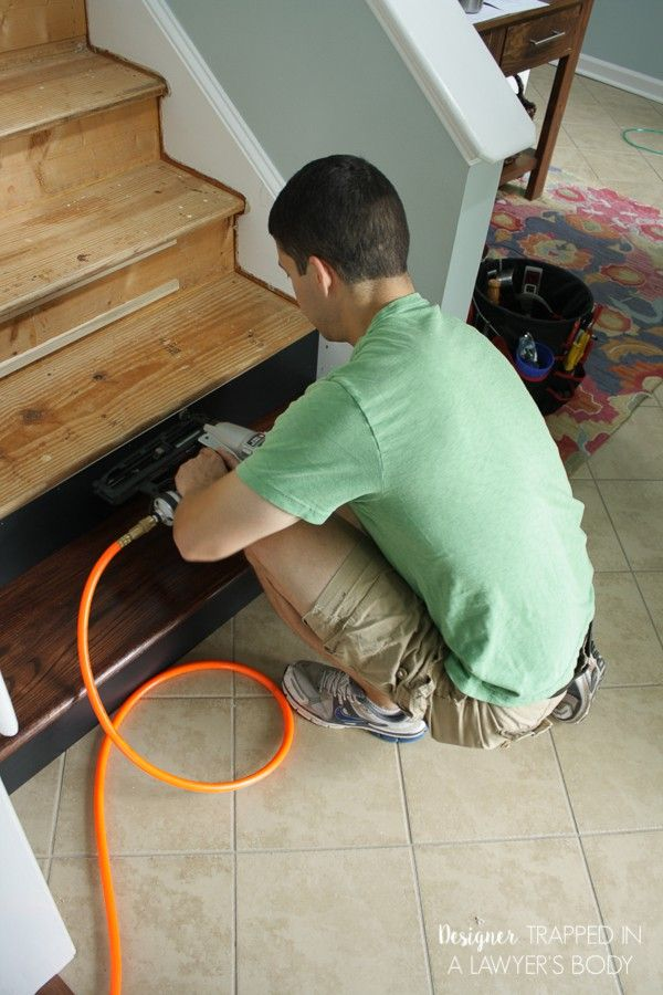 Best How To Install Wood Stairs Wood Stairs Flooring For 400 x 300