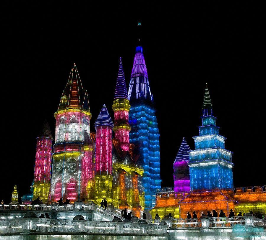 Ice Castle In Harbin China In 2020