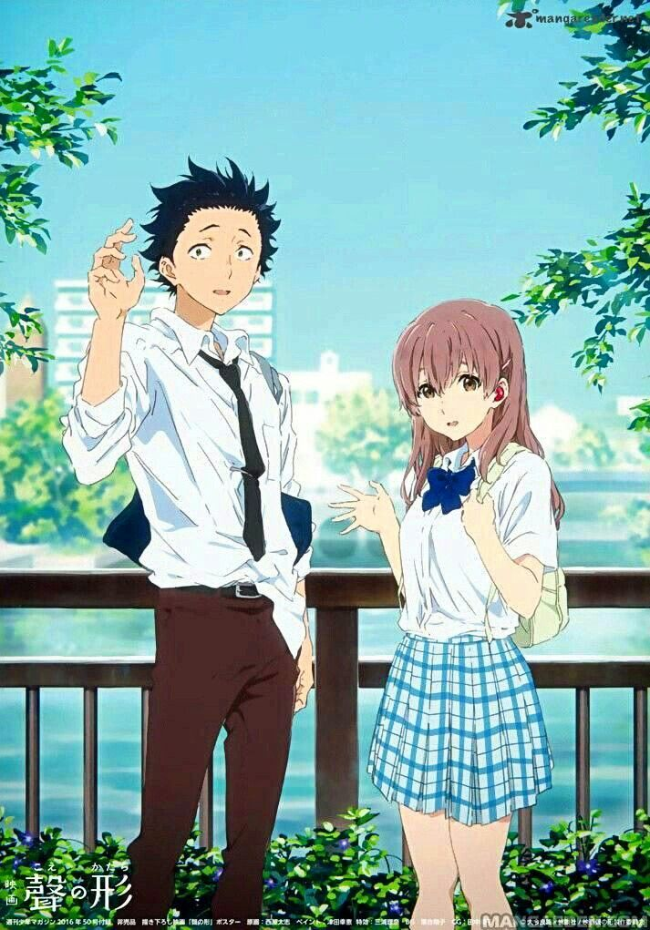 Idea by Kim L. on koe no katachi Anime films, Anime