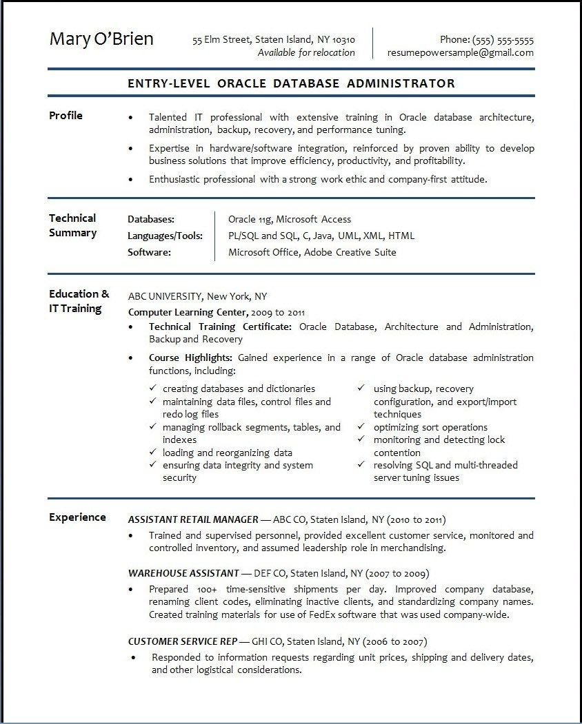 quality control technician resume sample cipanewsletter pharmacy retirement plan administrator grad school essay examples database manager - Administration Resume Template