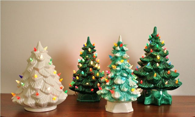 Vintage 1960s Ceramic Christmas Tree Electric Etsy Jeweled Christmas Trees Ceramic Christmas Trees Christmas Jars