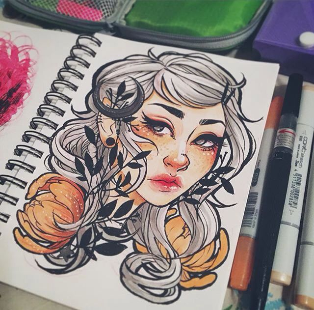 Pin By Jinx Star On Awsome With Images Copic Marker Art Copic