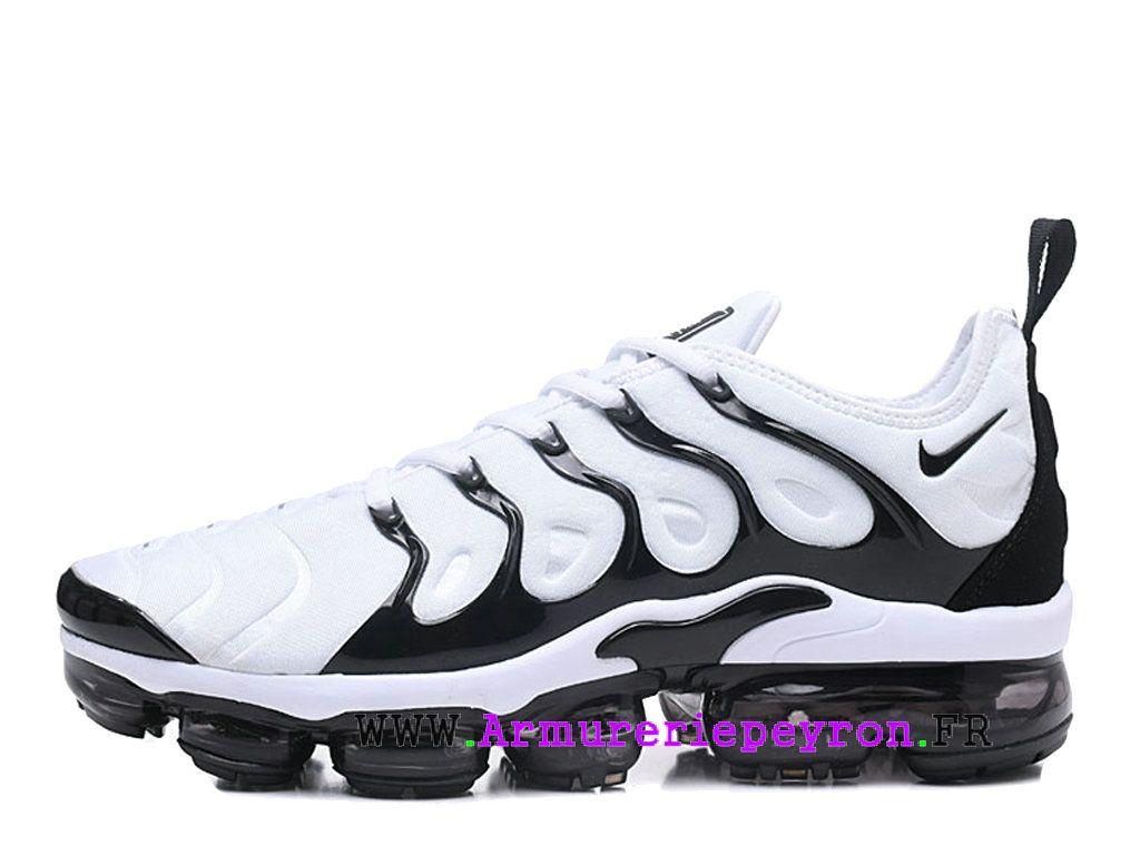 reputable site 64607 ff76c Chaussures de Basketball Nike Prix Pour Homme Nike Air VaporMax Plus Noir  Blanc 924453-ID10-Chaussures de basket-ball 24 heures en ligne magasin!