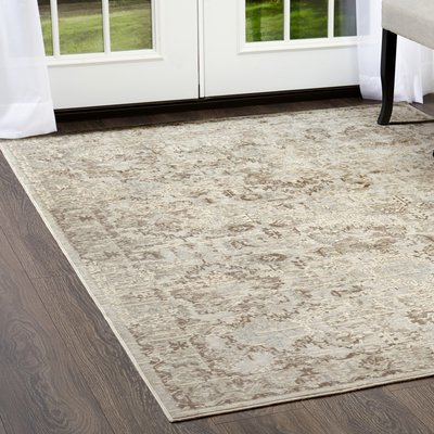 Shabbychic Cream Area Rug Rug Size Rectangle 7 10 X 10 2 Area Rugs Cream Area Rug Rugs