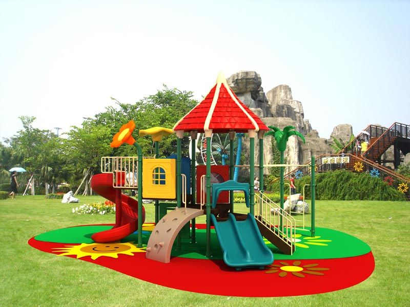 A Massive Playground Park For My Kids And Their Friends