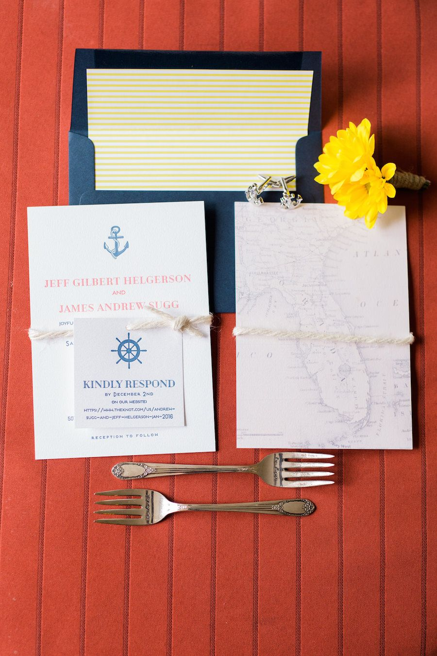 Nautical and Navy Blue Waterfront St. Petersburg Wedding | MMTB ...