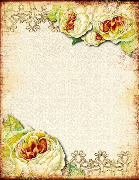 Поздравительные открытки бланки ретро, доброго утра
