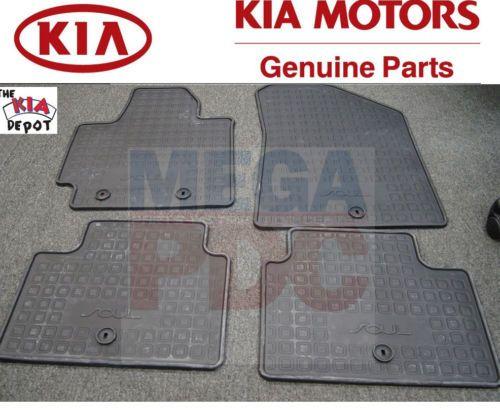 2014 2015 Kia Soul All Weather Rubber Floor Mats Liner $65