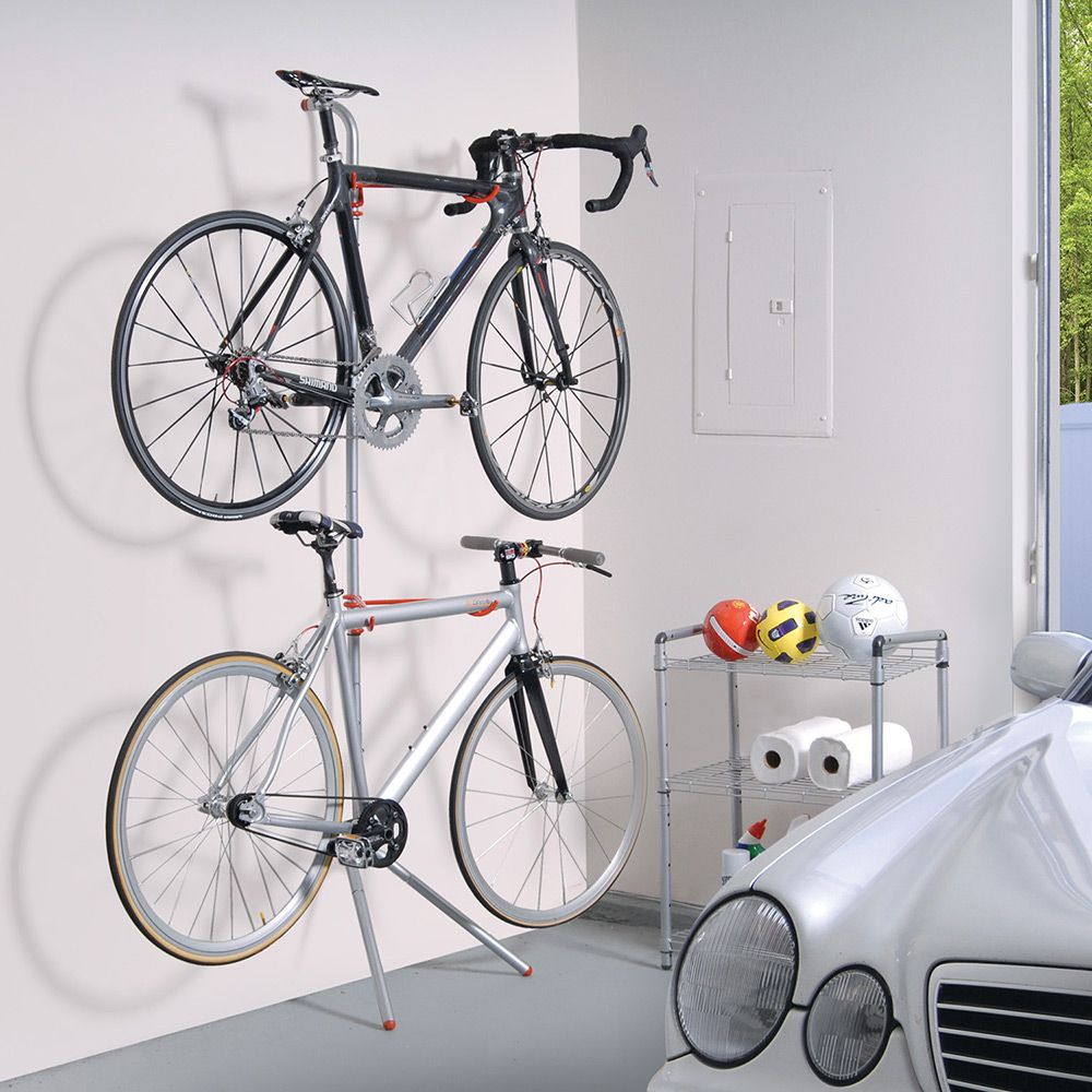 Uncategorized Leaning Bike Rack suporte para bicicletas de parede bike rack donatello prata the art of storage leaning rack